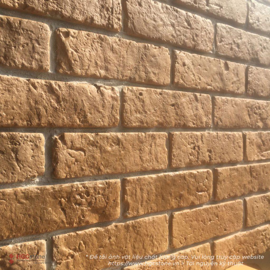Gạch cổ bát tràng vàng đất GC03 HGCstone